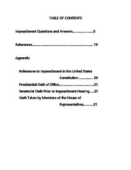 Let's Discuss...Impeachment