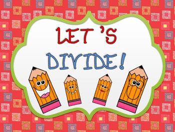 Let's Divide! (Division Flashcards)