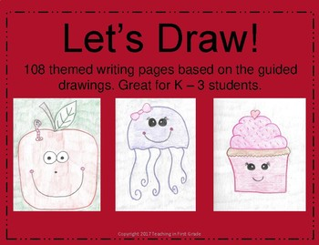 Let's Draw! 24 Guided Drawings for the Year!