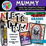 Let's Draw A Mummy