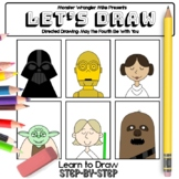 Let's Draw: Directed Drawing - May the Fourth Be With You