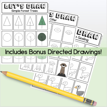 Let's Draw: Directed Drawing - Roz from The Wild Robot