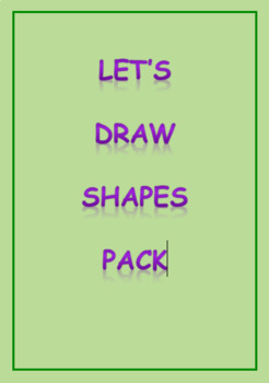 Let's Draw Shapes Pack