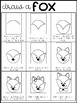Let's Draw Together:  Fox Freebie