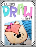 Let's Draw Together:  Fox Freebie