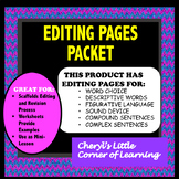 Let's Edit and Revise Our Rough Draft - Writing SOL - A MUST HAVE!