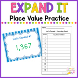 Place Value Expanded Form Practice