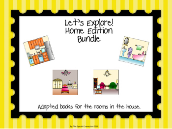 Let's Explore! Home Bundle Adapted Books