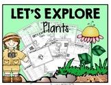 Let's Explore PLANTS {QR Codes} NO PREP