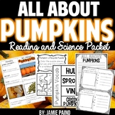 Let's Explore Pumpkins! A Reading and Science Packet