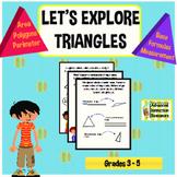 Let's Explore Triangles