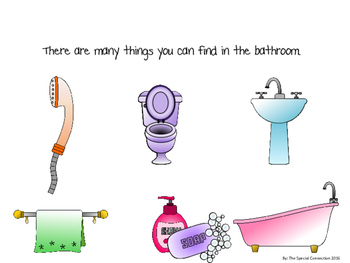 Let's Explore! What's in the Bathroom? An Adapted Book