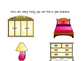 Let's Explore! What's in the bedroom? An Adapted Book
