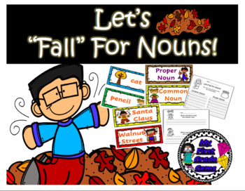 Dollar Deal!! Let's Fall for Nouns!