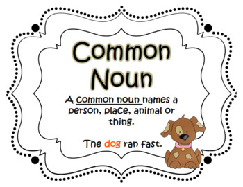Let's Fall for Nouns!