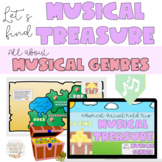 Let's Find Musical Treasure: A Virtual Field Trip about Ge