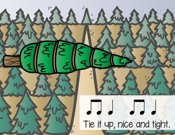 Let's Find a Christmas Tree Rhythmic Chant & Instrument Arrangement