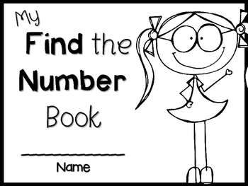 Let's Find the number book ~ NO-PREP