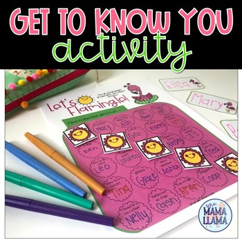 Let's Flamingle Getting to Know You Activity