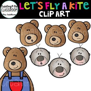 Let's Fly a Kite Bundle {Kite Clip Art}