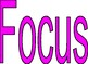Let's Focus! - Focus Wall Posters