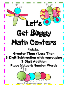 Let's Get Buggy Math Centers