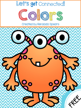 Let's Get Connected with Colors: Color Monster Coloring Book