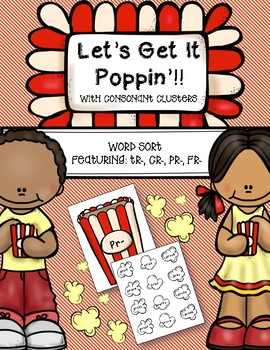 Consonant Cluster Word Sort {Let's Get It Poppin'!}