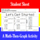 Let's Get Started - 15 Linear Systems & Coordinate Graphin