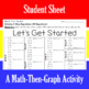 Let's Get Started - A Math-Then-Graph Activity - Solve 2-Step Equations