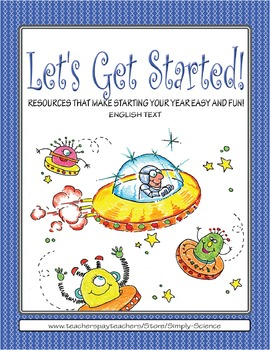 Let's Get Started! Aliens (English text)