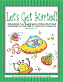 Let's Get Started! Aliens (Spanish text)