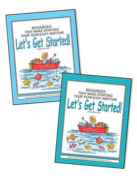 Let's Get Started! Fabulous Fish BUNDLE