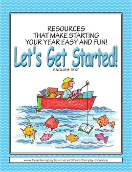 Let's Get Started! Fabulous Fish (English text)