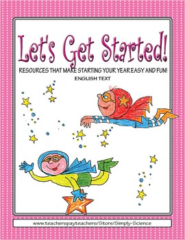 Let's Get Started! Superheroes!