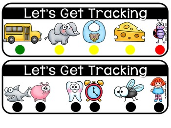 Let's Get Tracking {Tracking Print Strips}