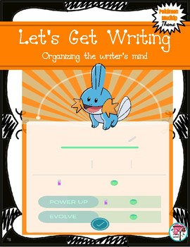 Let's Get Writing: Pokémon Mudkip