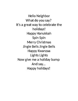 Let's Get the Rhythm of the Holidays