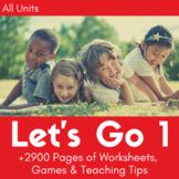 Let's Go 1 Worksheet Bundle - Save 25% (+1200 Pages!)