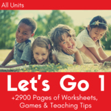 Let's Go 1 Worksheet Bundle - Save 25% (+1800 Pages!)
