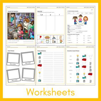 Let's Go 2 - Unit 6 Worksheets (+150 Pages!)