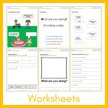 Let's Go 2 Worksheet Bundle - Save 25% (+1200 Pages!)
