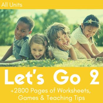 Let's Go 2 Worksheet Bundle - Save 25%