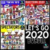 Let's Go 2020 Clip Art Bundle {Educlips Clipart}