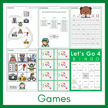 Let's Go 4 - Unit 3 Worksheets (+260 Pages!)