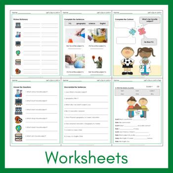 Let's Go 4 - Unit 4 Worksheets (+240 Pages!)