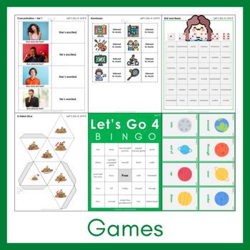 Let's Go 4 - Unit 5 Worksheets (+160 Pages!) REVISED & UPDATED