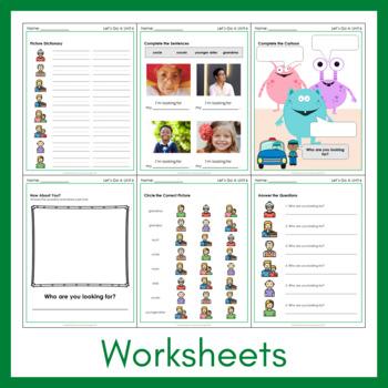 Let's Go 4 - Unit 6 Worksheets (+170 Pages!) REVISED & UPDATED