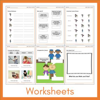 Let's Go 5 - Unit 5 Worksheets (+160 Pages!)
