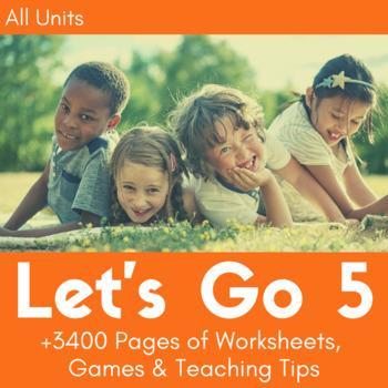 Let's Go 5 Worksheet Bundle - Save 25% (+500 Pages!)